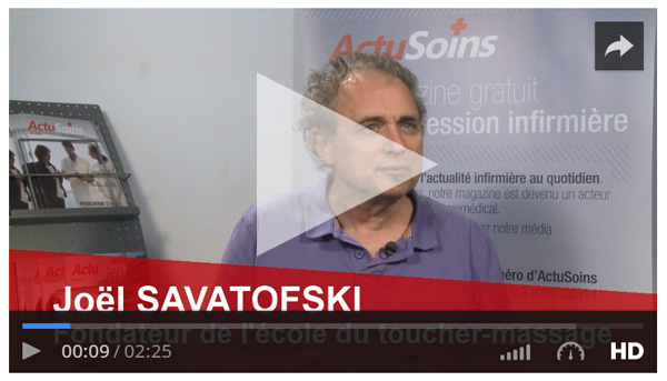 Interview Joël Savatofski par Actusoins