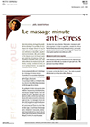 Article Massages minute